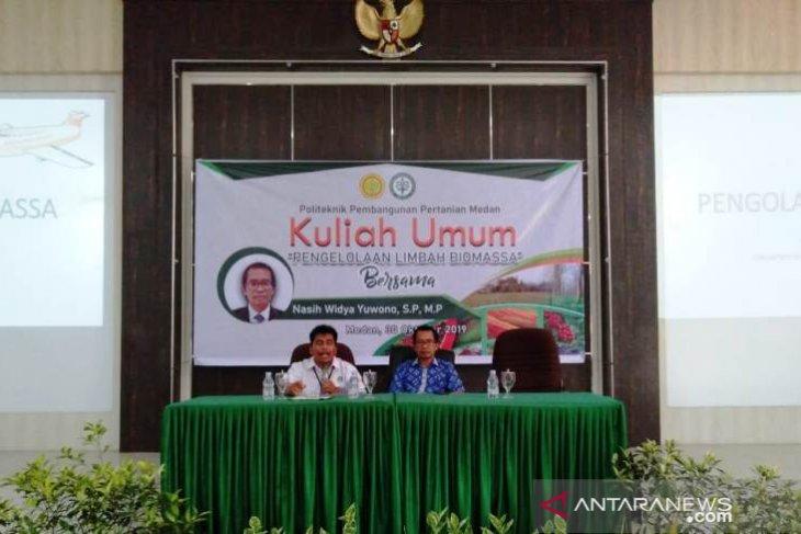 Polbangtan Medan gelar kuliah umum pengelolaan limbah biomassa