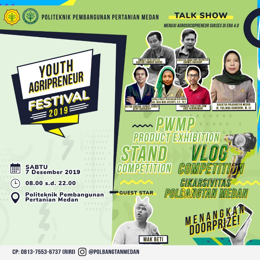 Youth Agripreneur Festival 2019