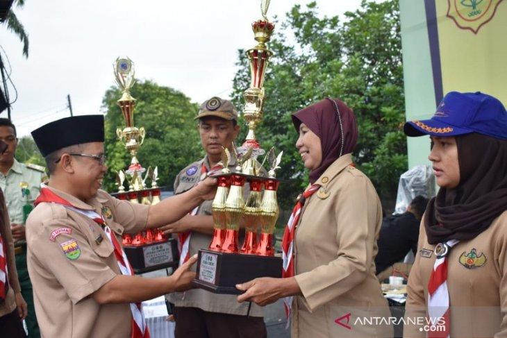 Meriahkan YAF, Polbangtan Medan serahkan penghargaan Gebyar Pramuka
