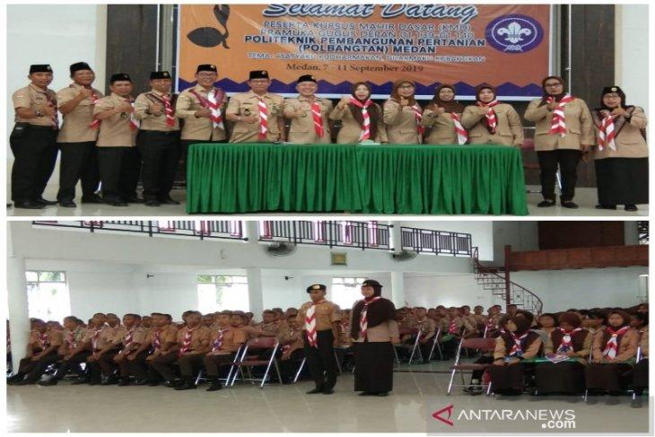 Polbangtan Medan selenggarakan kursus bagi Pramuka