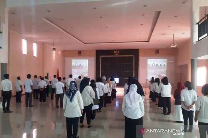 Polbangtan Medan ikuti peringatan Hari Pahlawan Nasional secara daring dengan jajaran Kementan