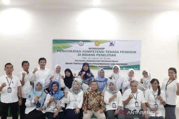 Tenaga didik Polbangtan Medan ikuti workshop peningkatan kompetensi