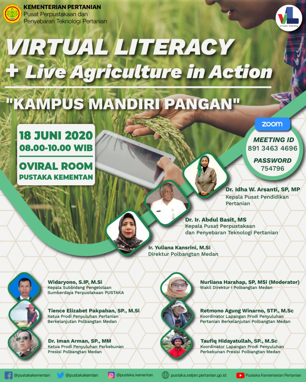Virtual Literacy + Live Agriculture in Action