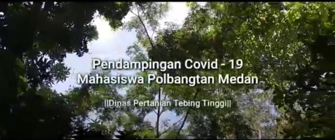 Pendampingan Mahasiswa Polbangtan Medan di Kota Tebing Tinggi Sumut