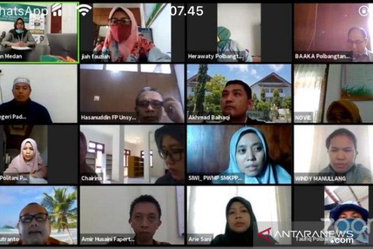 PWMP Koordinasi Polbangtan Medan rapat evaluasi secara