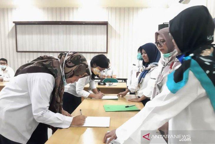 Teken fakta integritas, Direktur Polbangtan Medan nyatakan penerimaan mahasiswa baru
