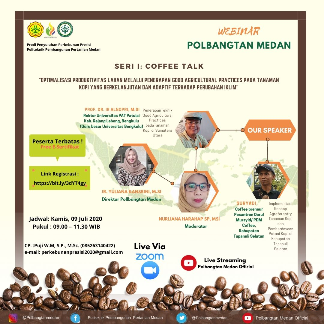 Webinar Seri I Coffee Talk