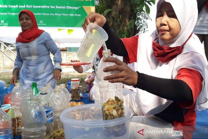 Polbangtan Medan edukasi ibu-ibu manfaatkan limbah jadi eco enzyme