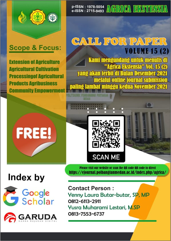 CALL FOR PAPER AGRICA EKSTENSIA