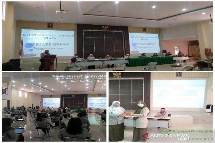 Koperasi APP Polbangtan Medan rapat anggota tahunan tahun buku 2020