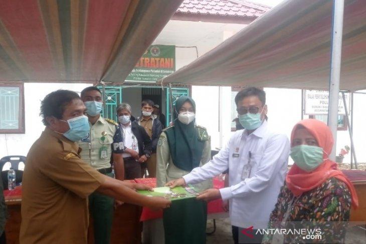 Kepala BPPSDMP serahkan mahasiswa Polbangtan Medan dampingi petani panen kentang food estate