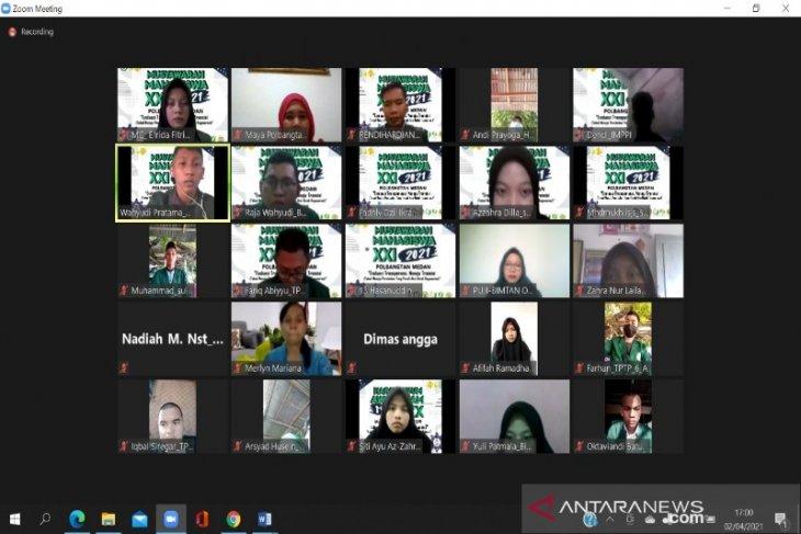 Musyawarah Mahasiswa XXI Polbangtan Medan dilaksanakan virtual