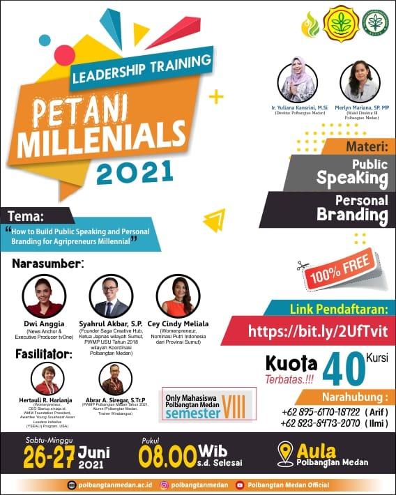 Kegiatan Leadership Training Petani Milenial 2021