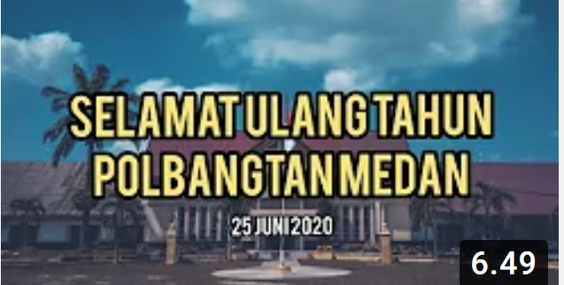 Selamat Ulang Tahun Polbangtan Medan | Dies Natalis 25 Juni 2020